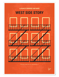 Poster West Side Story (anglais)