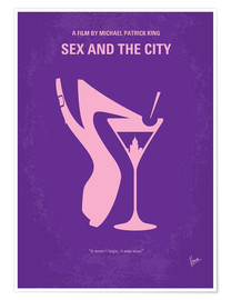 Poster Sex and the City (anglais)