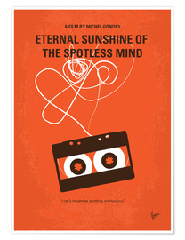 Poster Eternal Sunshine of the Spotless Mind (anglais)