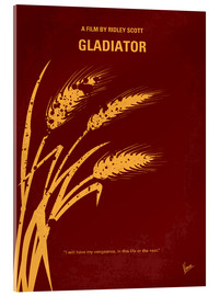Verre acrylique  No300 My GLADIATOR minimal movie poster - chungkong