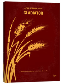 Toile  No300 My GLADIATOR minimal movie poster - chungkong