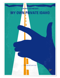 Poster My Own Private Idaho (anglais)
