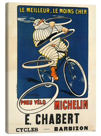 Tableau sur toile  Bicycle tires Michelin - H.L. Roowy