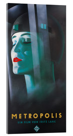 Tableau en verre acrylique  Metropolis (allemand) - Entertainment Collection