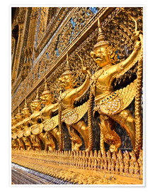 Poster  Emerald Buddha Temple in Bangkok, Thailand
