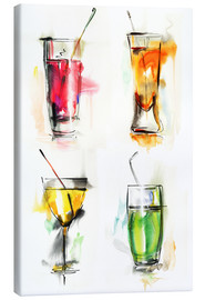 Toile  Colorful drinks
