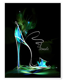 Blacklight High Heel
