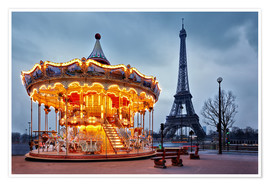 Carousel at the Eiffel Tower