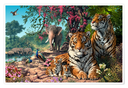 Poster Tiger Sanctuary