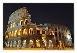 Poster  Colosseum in Rome