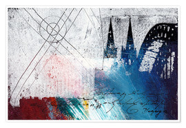 Poster Cologne Cathedrale