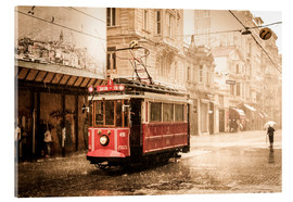 Verre acrylique  Avenue Istiklal, Istanbul - Thomas Braun