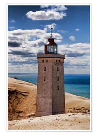 Poster  Danish Lighthouse