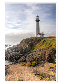 Poster  Phare de Pigeon Point