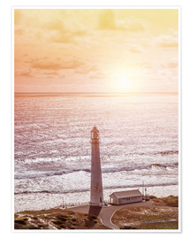 Morning glow at the lighthouse