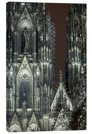 Tableau sur toile  Detail of Cologne Cathedral