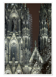 Poster  Detail of Cologne Cathedral