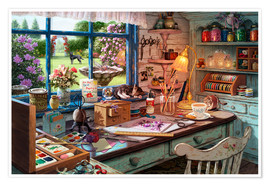 Poster  Grandmas Craft Shed - Steve Read