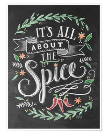 Poster  It's all about the Spice - Lily & Val