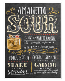Poster  Amaretto Sour - Lily & Val