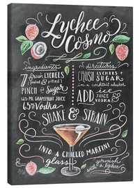 Toile  Lychee Cosmo recipe - Lily & Val