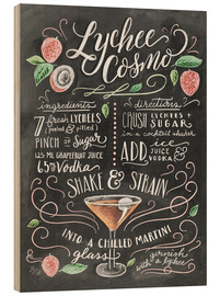 Bois  Lychee Cosmo recipe - Lily & Val
