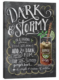 Toile  Dark & Stormy Cocktail - Lily & Val