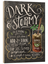Bois  Dark & Stormy Cocktail - Lily & Val