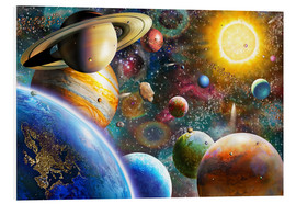 Adrian Chesterman - Planets in Space and Europe