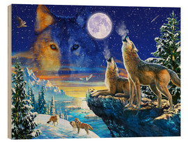 Adrian Chesterman - Howling Wolves