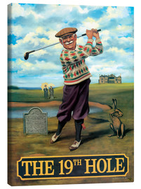 Tableau sur toile  The 19th Hole - Peter Green's Pub Signs Collection