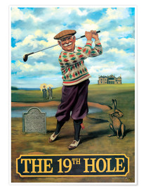 Poster  The 19th Hole - Peter Green's Pub Signs Collection