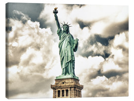 Tableau sur toile  Statue of Liberty - symbol of New York