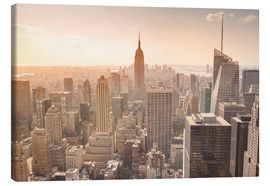 Tableau sur toile  Empire State Building in New York
