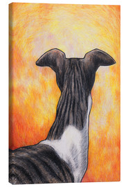 Tableau sur toile  Greyhound drawing - Jim Griffiths