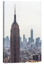 Tableau sur toile  New York City - Empire State Building