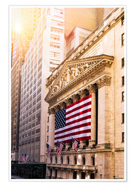 Poster  Bourse de New York