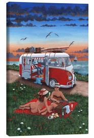 Tableau sur toile  26243 Naked lunch - Peter Adderley