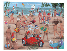 Tableau en PVC  26294 The Nudist Beach - Peter Adderley