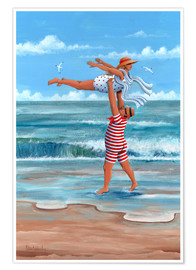 Poster  Dirty Dancing sur la plage - Peter Adderley