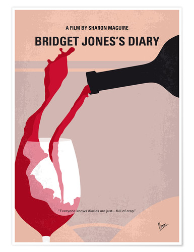 Poster Le Journal de Bridget Jones (anglais)