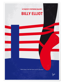 Poster No597 My Billy Elliot minimal movie poster