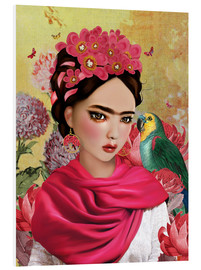 Tableau en PVC  Frida - Mandy Reinmuth