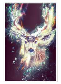 Poster Magic Stag