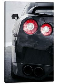 Toile  sports car Lights