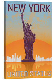 Toile  New York - Statue of Liberty