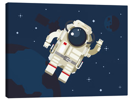 Tableau sur toile  Hello, little astronaut - Kidz Collection