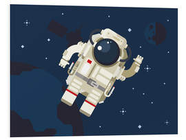 Tableau en PVC  Hello, little astronaut - Kidz Collection