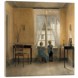 Bois  At the window - Peter Vilhelm Ilsted