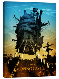 Toile  Howl's Moving Castle 2 (Le Château ambulant) - Albert Cagnef